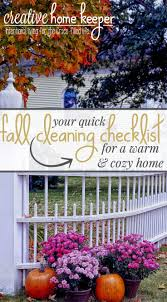 your quick fall cleaning checklist for a warm u0026 cozy home