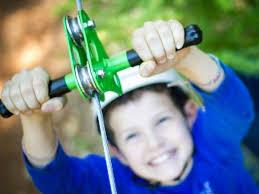 Backyard Zip Line Ideas Triyae Com U003d Family Backyard Toys Zipline Various Design