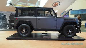 jeep half hardtop 5 ways the bollinger b1 is the 21st century u0027s electric defender