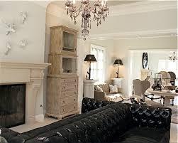 black leather tufted sofa 22 bond st daily blog