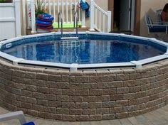 a small oasis in your back yard 18 u0027 semi in ground pool installed