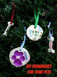 diy decorations ornament pet projects for the holidays