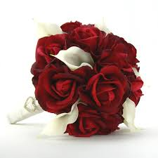 Red Wedding Bouquets White And Red Bouquets Wedding