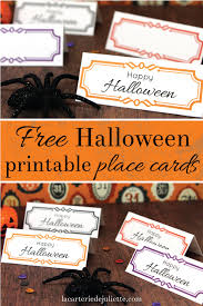 french halloween printables free halloween printable place cards la carterie de juliette