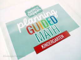 differentiate math easier with the guided math pack for