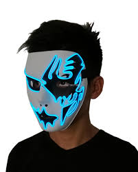 crow mask halloween scream mask with blood and pump halloween scary accessory