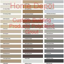 home tips home depot grout colors for interior or exterior