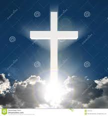 cross in heavenly sky royalty free stock photos image 163508