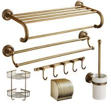 Bathroom Hardware Sets 5 Piece Aluminum Painting Cheap Bathroom Accessories Sets