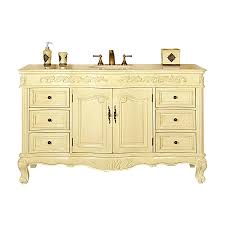 60 Bathroom Vanity Top Single Sink by Shop Silkroad Exclusive Ella White Oak Undermount Single Sink