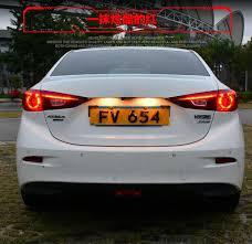 mazda 3 tail lights hireno tail l for mazda mazda3 axela 2014 2015 2016 taillight