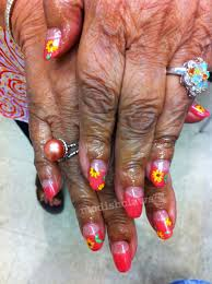 flat nail art modishclaws