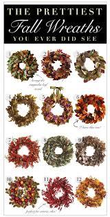 Fall Wreaths The Prettiest Fall Wreaths You Ever Did See Kelley Nan