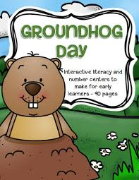 groundhog theme activities printables preschool
