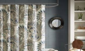 How To Hang A Drapery Scarf by 3 Steps For How To Install A Shower Curtain Overstock Com