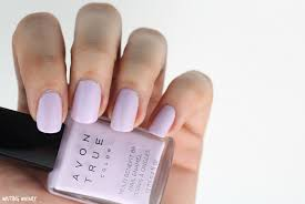 avon true color polishes in lilac love perfect pink u0026 restoring