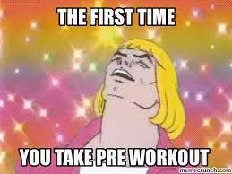 Pre Workout Meme - workout