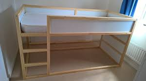 Half Bunk Bed Appealing Bunk Bed Mattress Ikea Kura Trofast Stuva Bed Hack Ikea