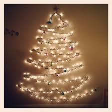 tree out of lights on wall neuro tic