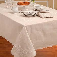 lenox perle tablecloth and napkins kugler s home fashions