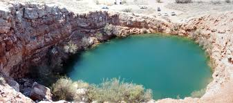 New Mexico lakes images Devil 39 s inkwell bottomless lakes state park new mexico jpg