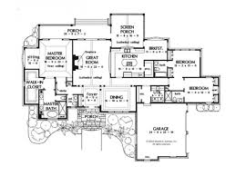 100 one story cottage plans one story house plans with open
