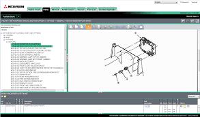 mitsubishi forklift trucks 2014 parts manual spare parts catalog
