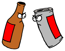 cartoon beer can bunk beer myths debunked tap trail