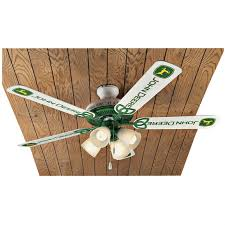 Fan Lighting Fixtures Deere 5 Blade Ceiling Fan 135010 Lighting At
