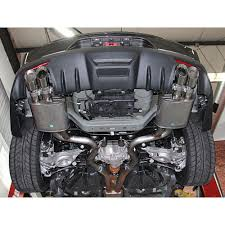 mustang exhaust roush 421920 mustang axle back tip premium fb gt 2015 2017