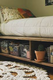 Build A Platform Bed With Storage Underneath by Diy Platform Bed Ideas Diy Projects Craft Ideas U0026 How To U0027s For