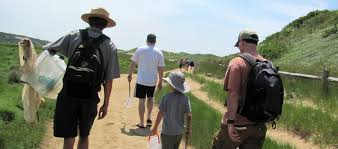 cape cod national seashore hike paddle and tour with a ranger