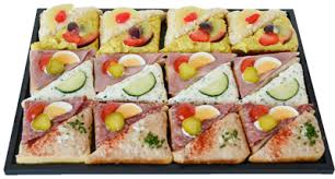 canap au thon bäckerei konditorei confiserie sandwiches salate canapés apéro