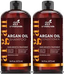 amazon com artnaturals moroccan argan oil hair loss shampoo