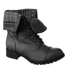 s boots combat shiekh oralee s s grey fold combat boot shiekh shoes
