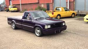 mazda b2000 truck v8 custom youtube