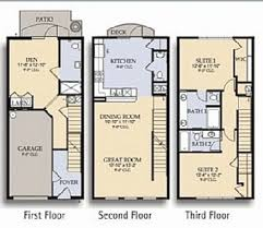 3 story townhouse floor plans floor master bedroom floor plans bedroom at real estate