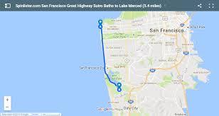 san francisco map california san francisco bike map spinlister s top 10 bike routes in sf