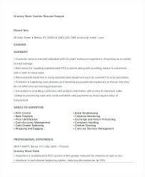 supermarket cashier resume sample cashier resume template