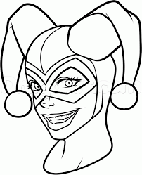 harley quinn coloring pages 11029