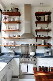 Open Shelves Kitchen Design Ideas Live Here Eat That Country City Open Shelving Kitchens And