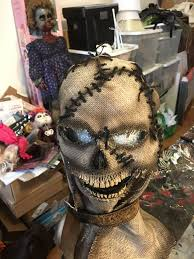 Real Looking Halloween Masks Scarecrow Halloween Mask