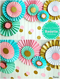 decoration of handmade paper bags best rosettes ideas on fans