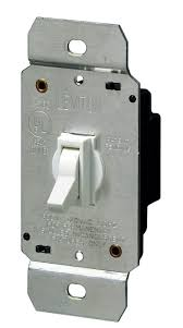 leviton dimmer light switch leviton 6641 w 600w incandescent toggle dimmer single pole white