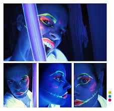 comment faire un maquillage de squelette m a d maquillage fluorescent le lampadaire c u0027était moi