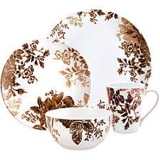 paula deen tatnall brown 16 dinnerware set free