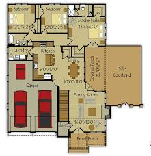 small house floor plan small single story house plan fireside cottage