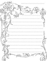 writing paper template free printable lined stationery templates