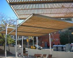 self supporting pergola steel wooden canopy modular