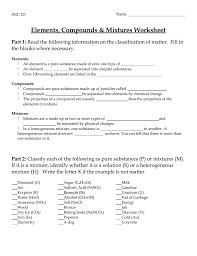 what is chagne made of worksheet physical and chemical changes worksheet answers thedanks